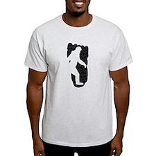 Bigfoot Footprint (Distressed) T-Shirt