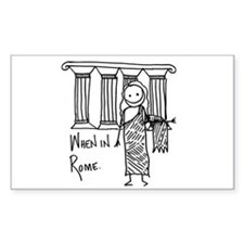 Rome Rectangle Decal