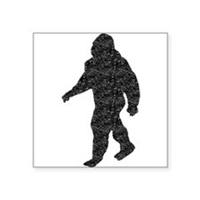 Bigfoot Silhouette (Distressed) Sticker