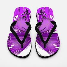 Butterfly Flip Flops