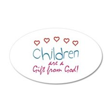 Children are a gift Wall Decal