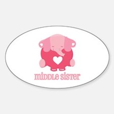 Middle Sister Elephant Decal