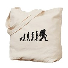 Bigfoot Evolution (Distressed) Tote Bag