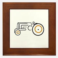 Tractor Framed Tile