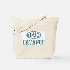 Team Cavapoo Tote Bag