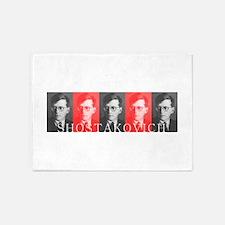 Shostakovich 5'x7'Area Rug