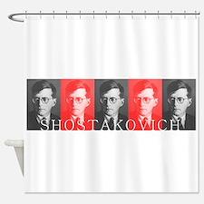 Shostakovich Shower Curtain