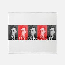 Shostakovich Throw Blanket
