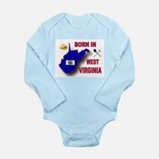 WEST VIRGINIA BORN Body Suit