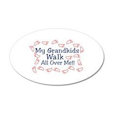 Grandkids Walk Wall Decal