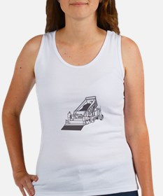 Paving Truck Outline Tank Top