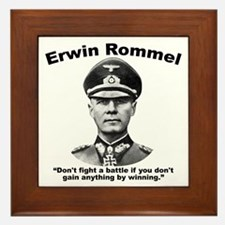 Rommel: Don't Fight Framed Tile