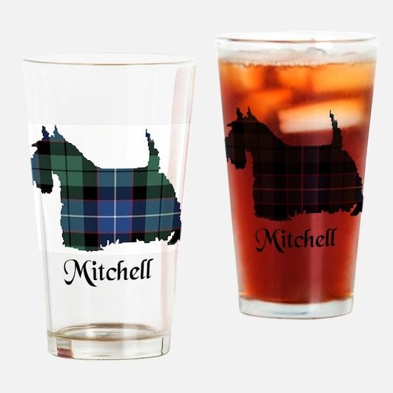 Terrier-Mitchell Drinking Glass