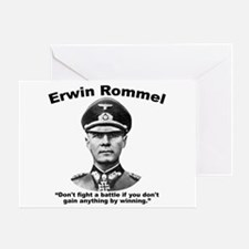 Rommel: Don't Fight Greeting Card