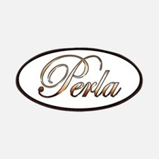 Gold Perla Patch