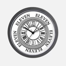 Eleven Eleven Roman Clock Wall Clock
