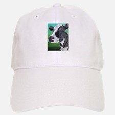 Black and White Cow Hat