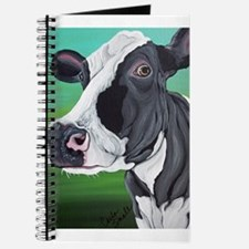 Black and White Cow Journal