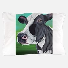 Black and White Cow Pillow Case