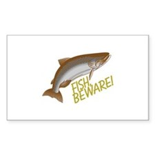 Fish Beware Decal