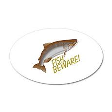 Fish Beware Wall Decal