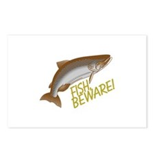 Fish Beware Postcards (Package of 8)