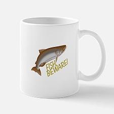 Fish Beware Mugs
