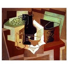 Juan Gris - The Bag of Coffee Poster