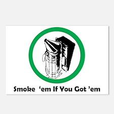 Smoke 'em Postcards (Package of 8)