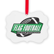Flag Football Champion Ornament