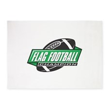 Flag Football Champion 5'x7'Area Rug