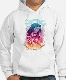 Most Pure Heart of Mary (vertica Hoodie