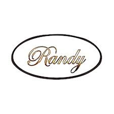 Gold Randy Patch