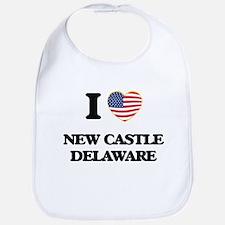 I love New Castle Delaware Bib