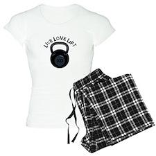 Live Love Lift Pajamas