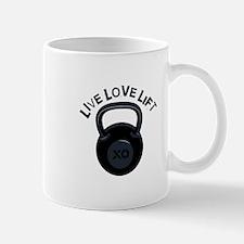 Live Love Lift Mugs