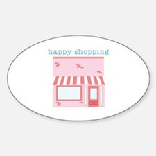 Happy Shopping Decal