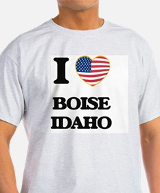 I love Boise Idaho T-Shirt