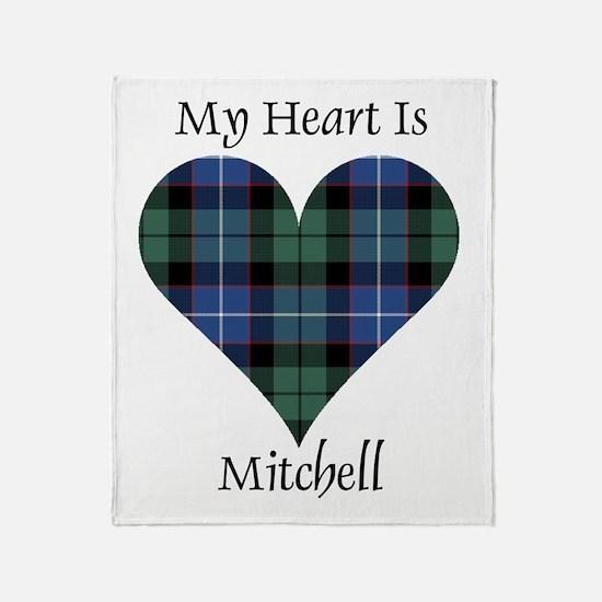 Heart-Mitchell Throw Blanket