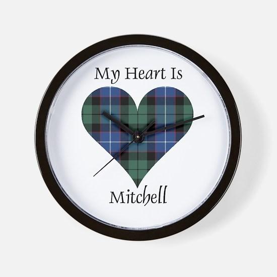 Heart-Mitchell Wall Clock