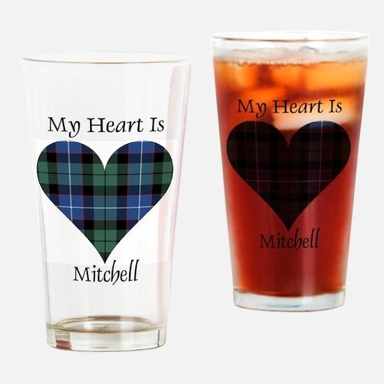 Heart-Mitchell Drinking Glass