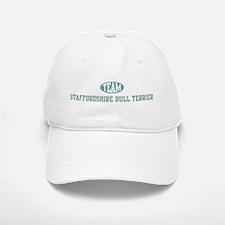 Team Staffordshire Bull Terri Baseball Baseball Cap