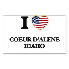 I love Coeur D'Alene Idaho Decal