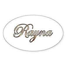 Gold Rayna Decal