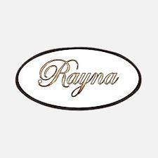 Gold Rayna Patch
