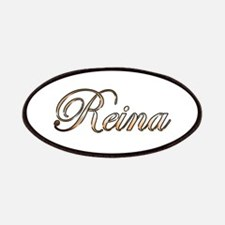Gold Reina Patch