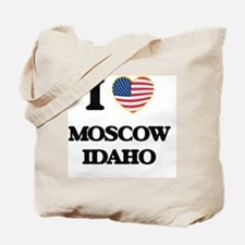 I love Moscow Idaho Tote Bag