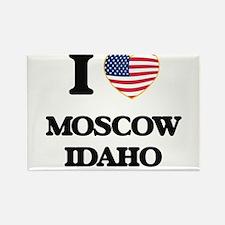 I love Moscow Idaho Magnets