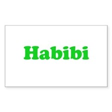 Habibi Rectangle Decal