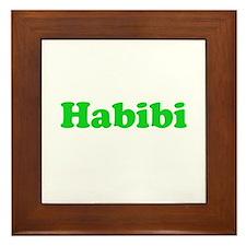 Habibi Framed Tile